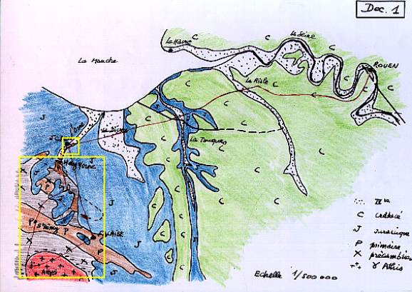 Carte g ologique basse normandie my blog for Haute normandie basse normandie